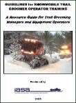 Groomer Operator Manual